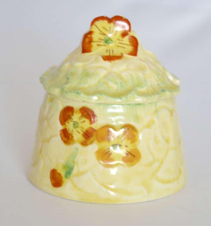 Kensington KPH Ware Jam Preserve Pot Jar c1922 - 1937 Primula Pattern