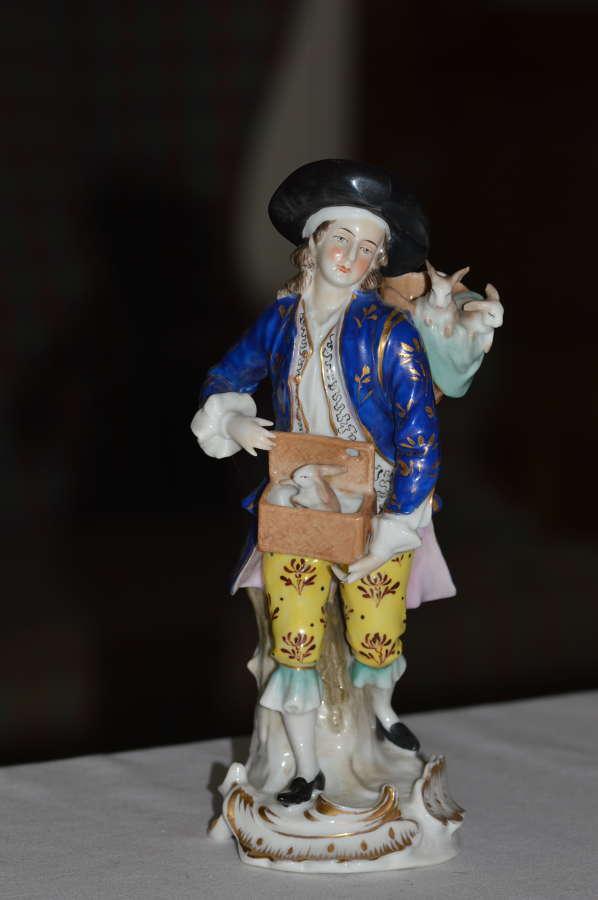 Samson Porcelain Figure 19th Century