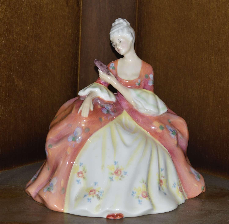 Royal Doulton 1978 Porcelain Wistful Figurine - Peggy Davies Classics
