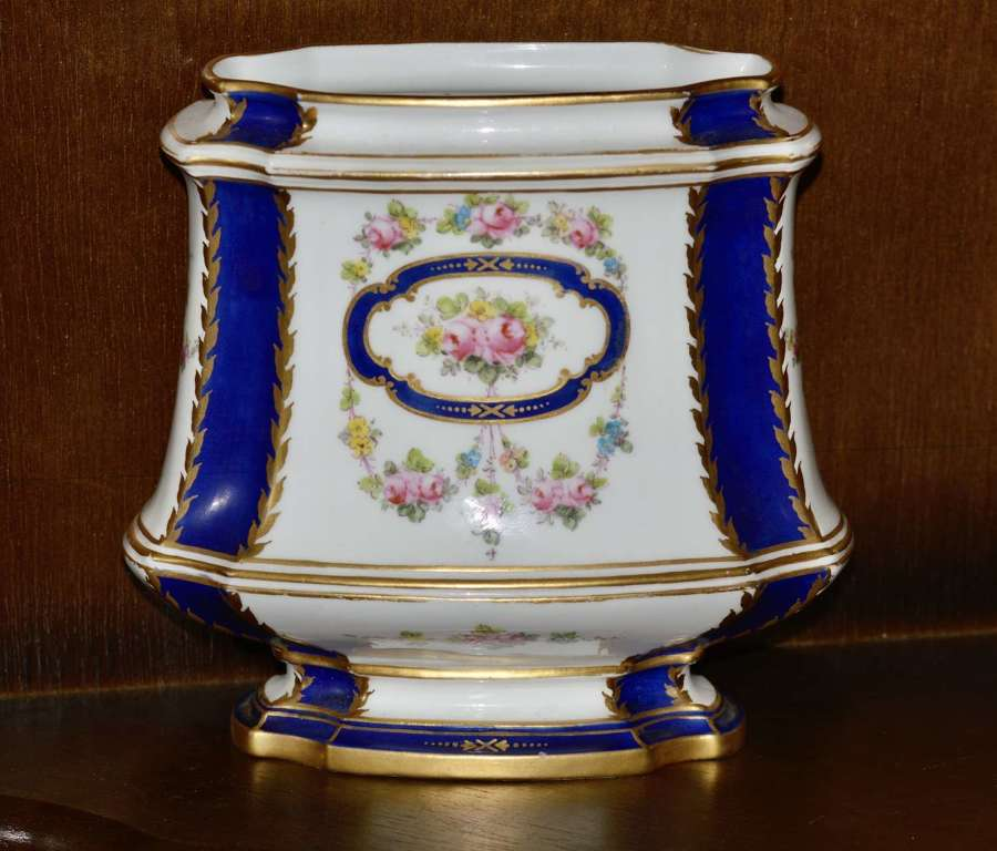 Royal Crown Derby 1912 Excellent Quality Hand Painted Floral Vase