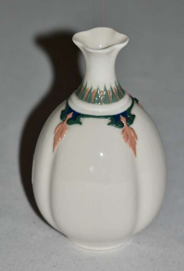 Superb 1910 Edwardian Royal Worcester Bud Vase
